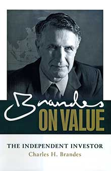 Book cover - Brandes on Value