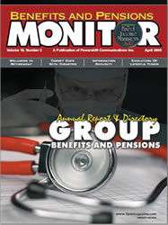 Benefits and Pensions Monitor - April 2006