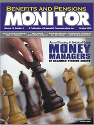 Benefits and Pension Monitor October 2003