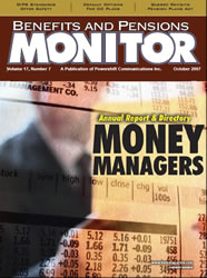 Benefits and Pensions Monitor - October 2007